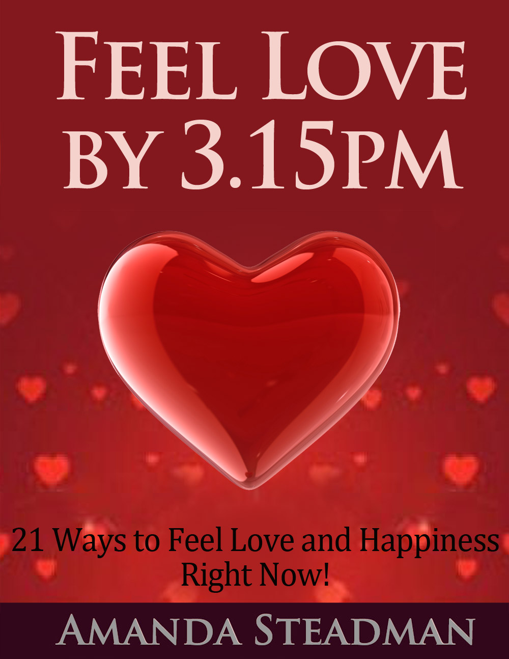 Feel Love by 3.15pm
