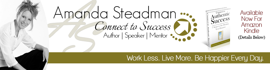 Amanda Steadman - Author | Speaker | Mentor