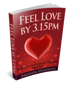 feel love by 3pm
