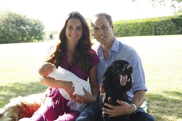 Kate Being Kate & Her Boys! Taken by Michael Middleton