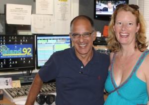 Soc and Amanda @Island 92 Radio - Life is GOOD!
