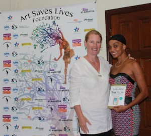 Nicole de Weever of Art Saves Lives Foundation & Amanda Steadman