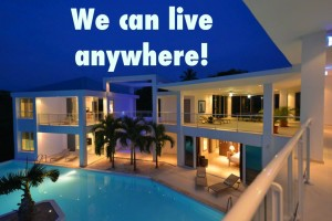 We can live anywhere! Grand Bleu Villa 1